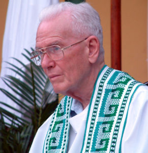 Father Wasson at NPH in El Salvador in 2003