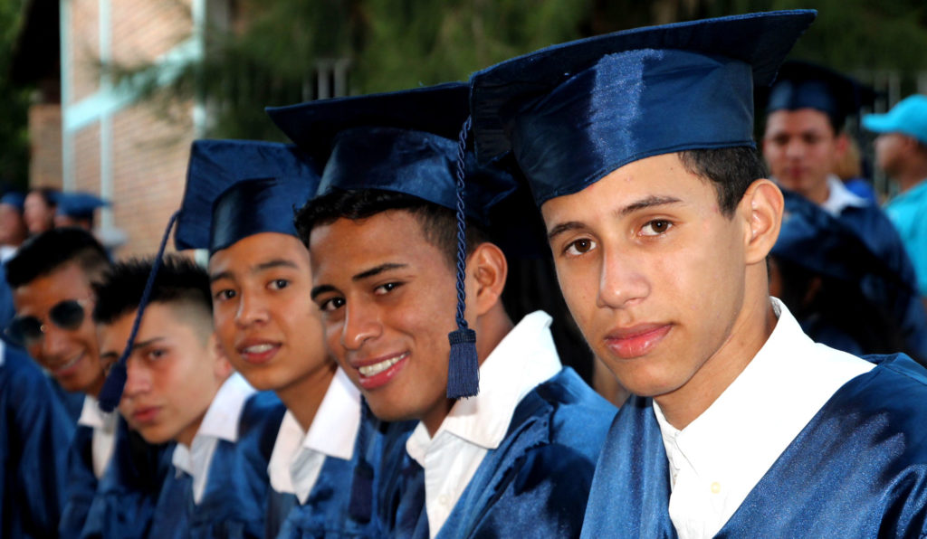 NPH high school graduates from Honduras