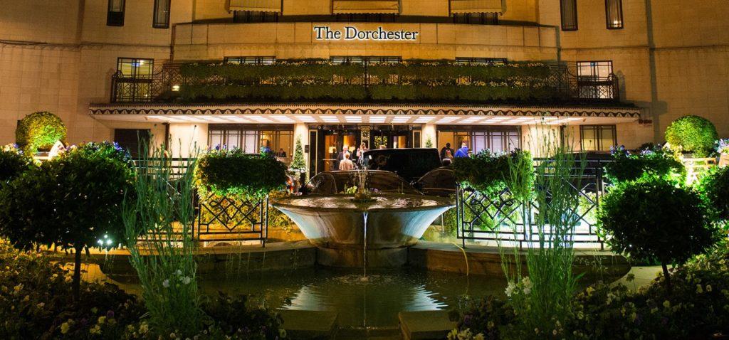 The Dorchester Hotel, winter gala dinner venue