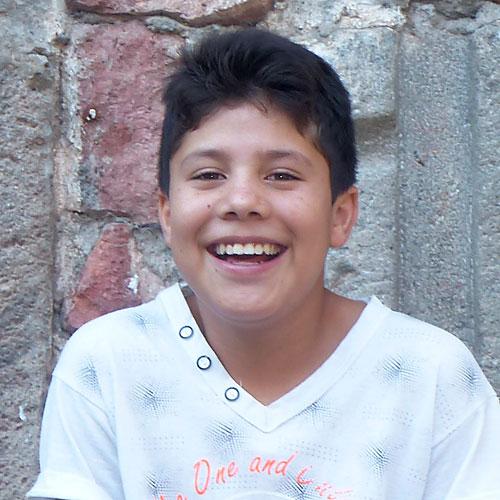 Hernán smiling
