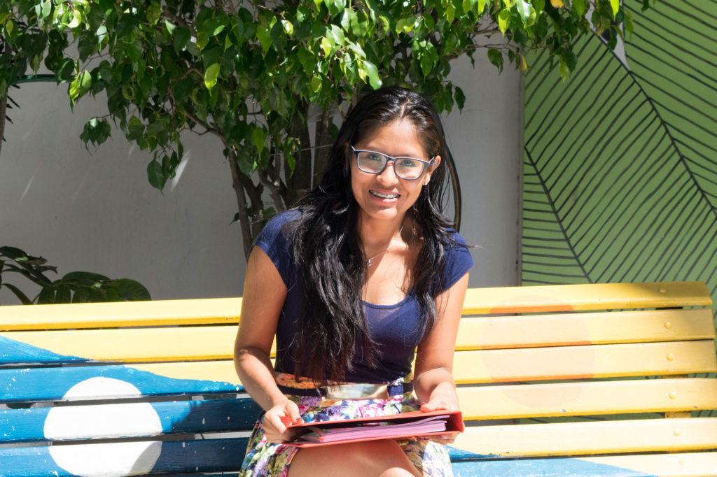 Girl student at NPH Bolivia