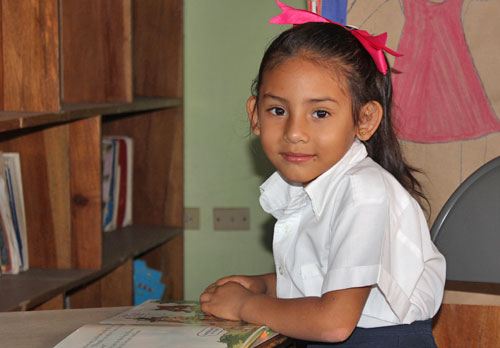 School girl at NPH Nicaragua