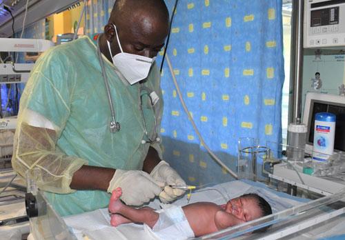 Post-natal care at NPH Haiti
